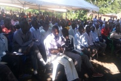 Community Dialogue Meeting on Sexual Gender Based Violence in Iganga