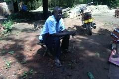 Family meeting at Kalagi in Mukono District
